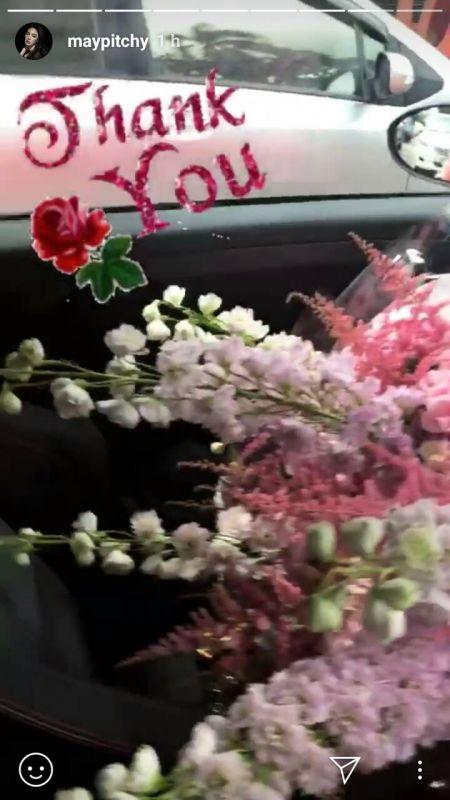 เมย์ พิชญ์นาฏ เจ ชนาธิป ความรัก เลิก แฟน ดอกไม้