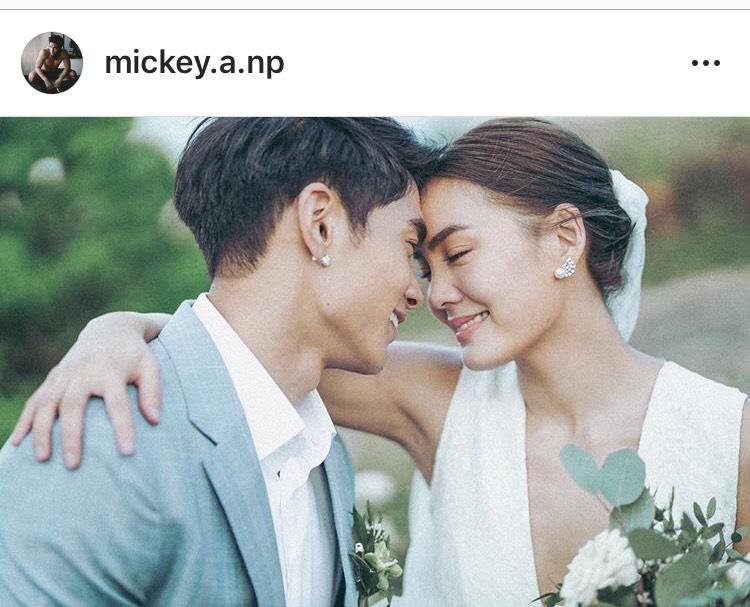 เจนี่ มิกกี้ แต่งงาน คู่รัก ฮันนีมูน