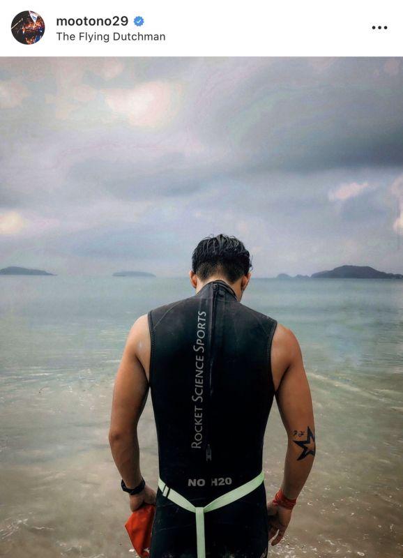 โตโน่ ภาคิน โครงการ One Man And The Sea ณิชา