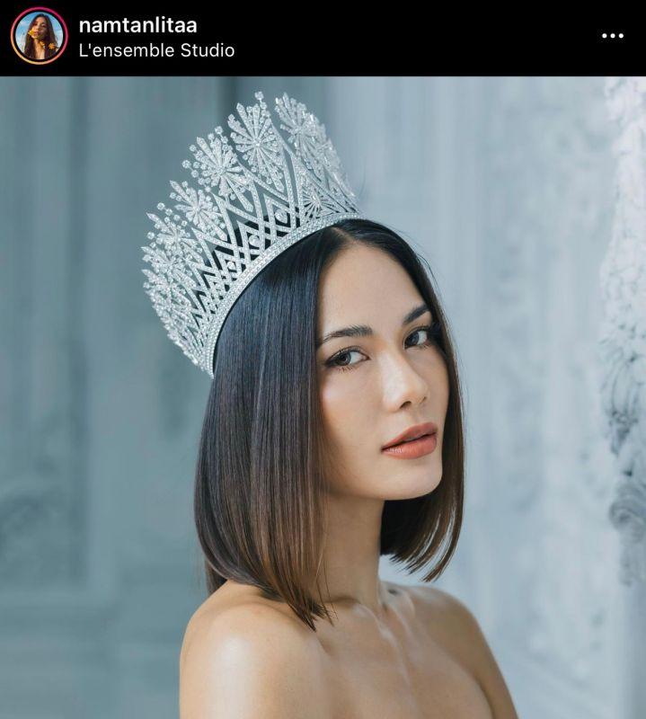 น้ำตาล ชลิตา นางงาม นักแสดง มงกุฎ Miss universe Thailand