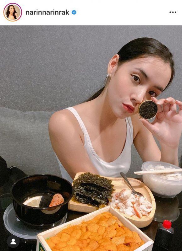 มุกดา ไลฟ์สไตล์ การกิน อาหาร