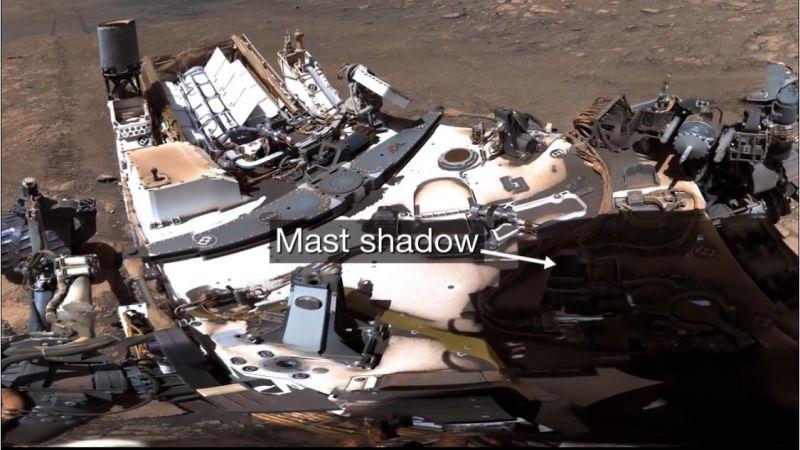 Nasa ดาวอังคาร ผิวดาวอังคาร