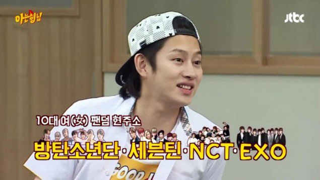 Heechul ผลโพล วงท็อป วงการบันเทิง บันเทิงเกาหลี วงการเพลงเกาหลี  K-Pop