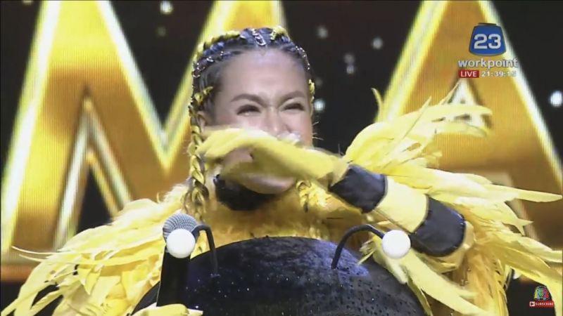 นิว นภัสสร ถอด หน้ากากน้ำผึ้ง TheMaskSinger4