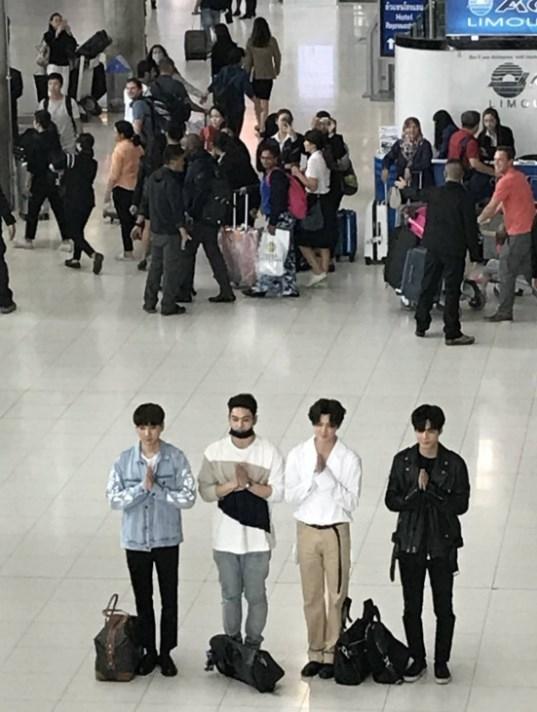 JR Aron Baekho Ren  MinHyun คอนเสิร์ต