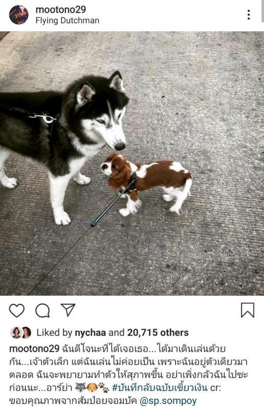 โตโน่ ภาคิณ ณิชา ณัฐณิชา คู่จิ้น หวานใจ สุนัข