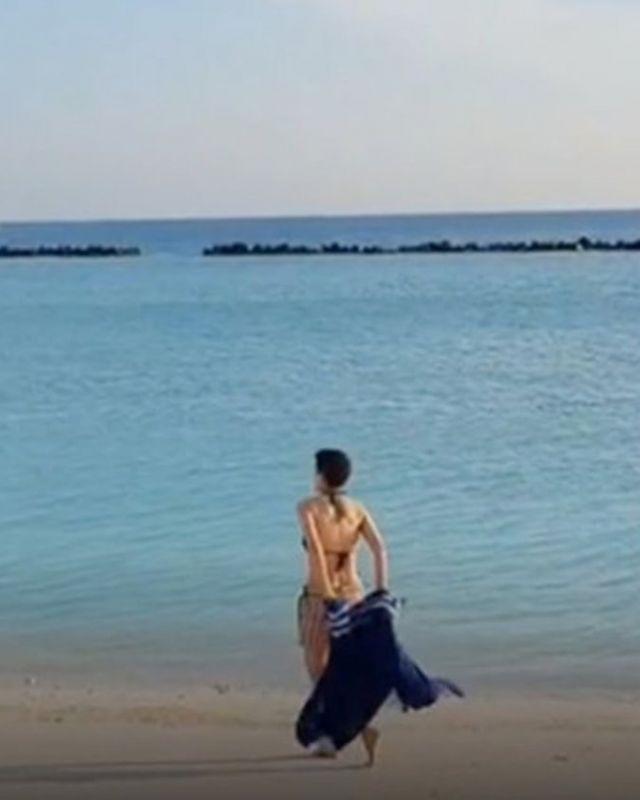 อ้อม สุนิสา บิกินี่ เที่ยว ทะเล เต้ย จรินทร์พร โอปอล์