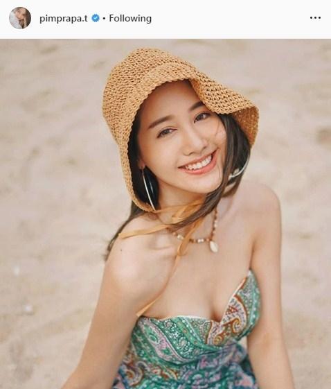 ดิว กวาง พิม ทะเล ชุดว่ายน้ำ เซ็กซี่