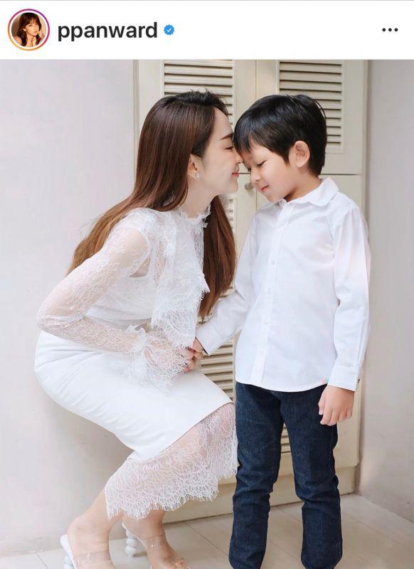 ป๊อป นิธิ เป้ย ปานวาด ครบรอบรัก 8 ปี ครอบครัว