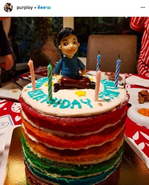 ปีเตอร์ คอร์ป น้องแพนเตอร์ เซอร์ไพรส์ วันเกิด