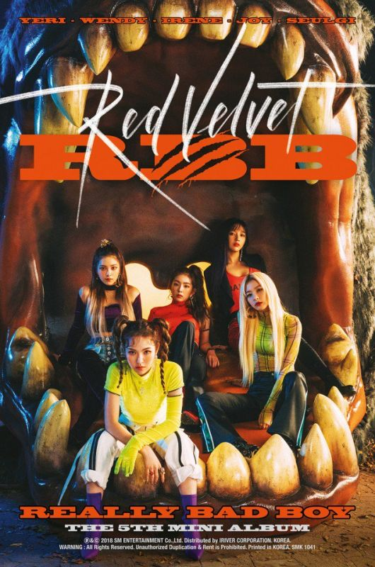 Red Velvet ReVeluv Really Bad Boy