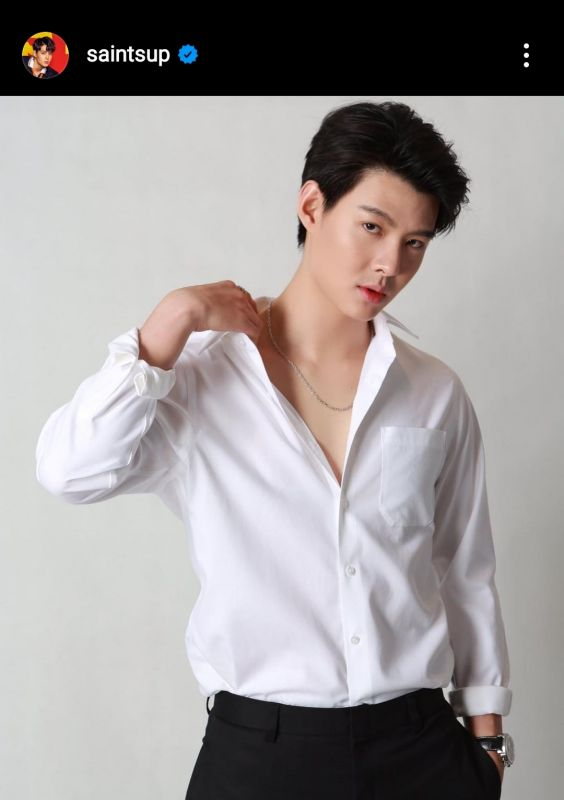 เซ้นต์ ศุภพงษ์ นักแสดง ซีรีส์วาย CEO นักธุรกิจ ละคร