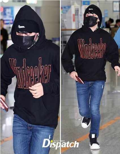 Seungri หนีสื่อ สนามบิน ไอดอล kpop