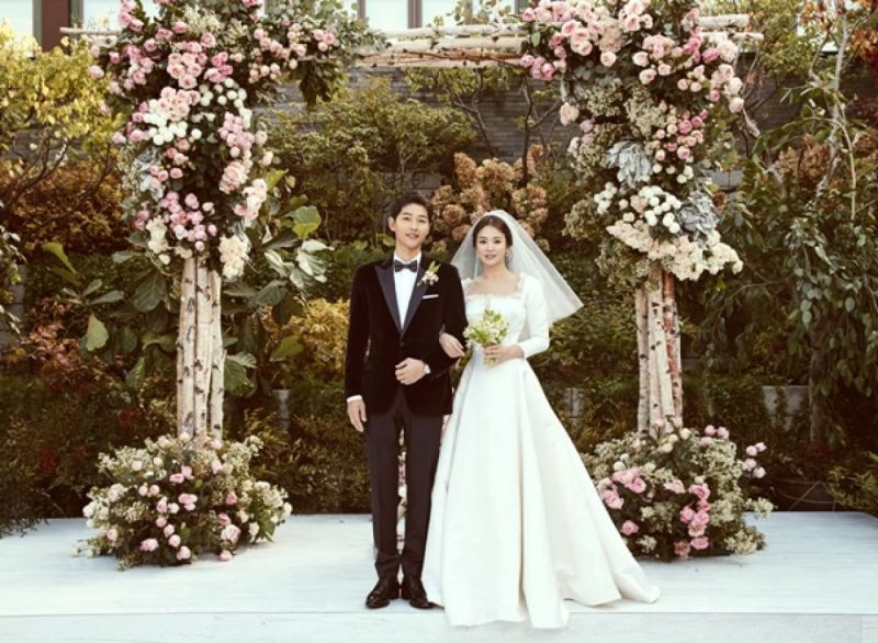 songsongcouple Song Joong Ki Song Hye Kyo songsongcouplewedding