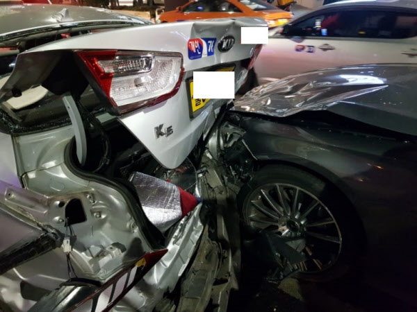 Girls Generation ประสบอุบัติเหตุรถชน