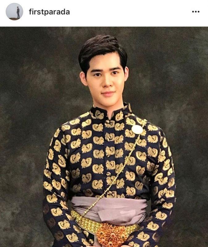 ดาราชาย ชุดไทย งานอุ่นไอรัก