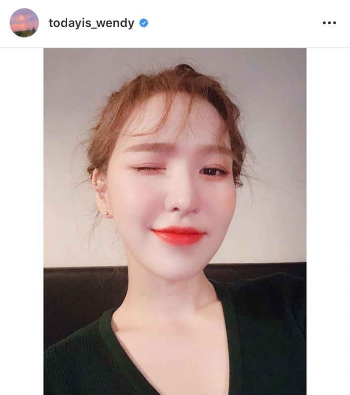 SM Entertainment เวนดี้ Red Velvet กลับบ้านได้แล้ว