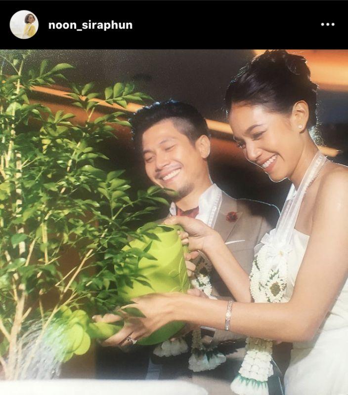 ท็อป พิพัฒน์ นุ่น ศิรพันธ์ ครบรอบแต่งงาน รักษ์โลก