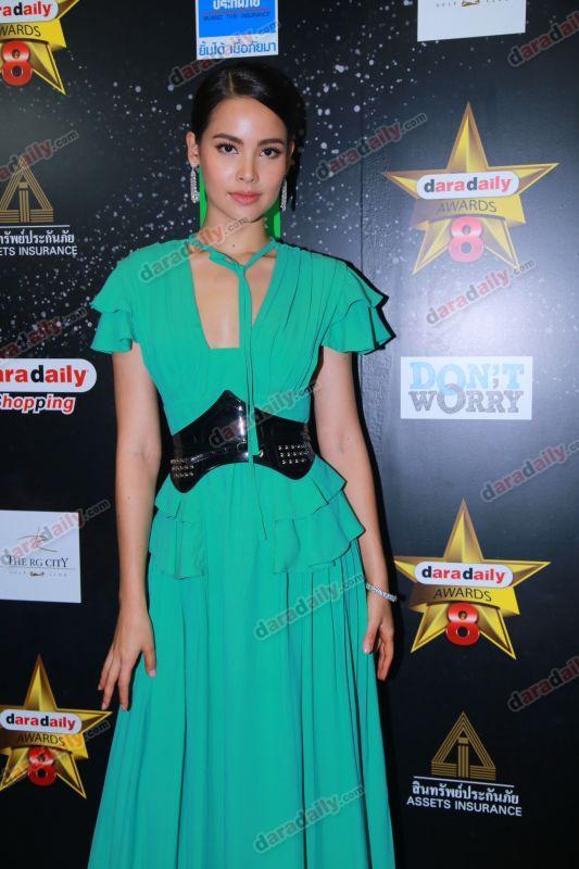 ญาญ่า อุรัสยา daradaily Awards 8 ชุด