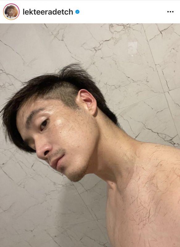 ดาราชายตัดผม