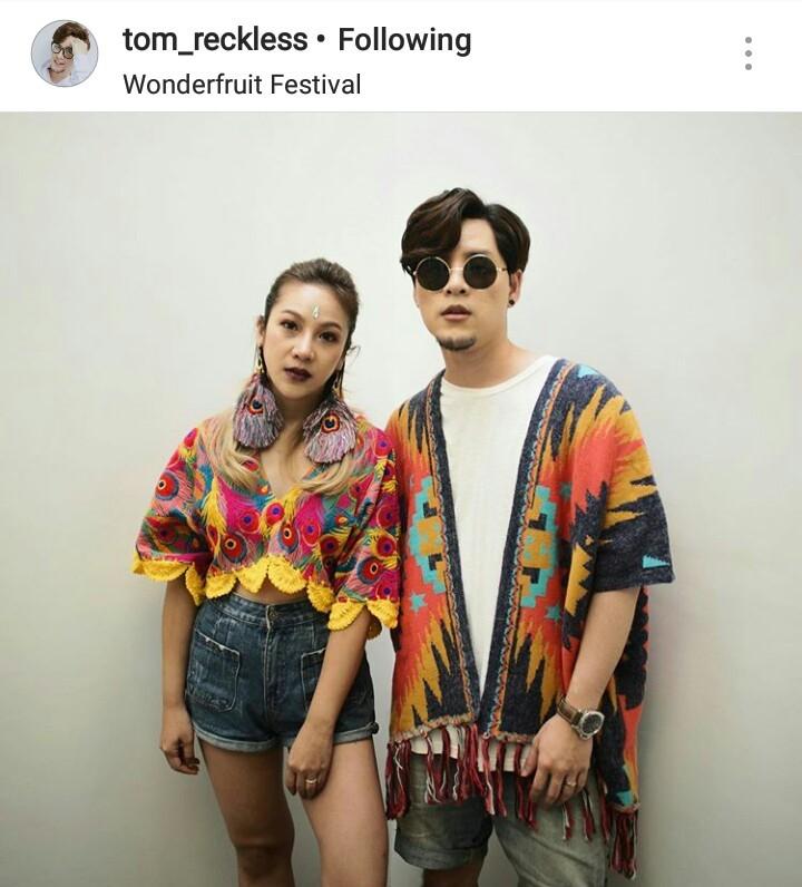 #wonderfruitfestival #wonderfruit2018 แฟชั่น