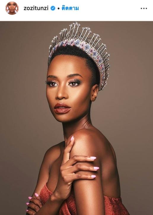 Zozibini Tunzi MU 2019 Miss Universe 2019  South Africa